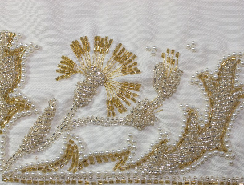 Gallery tambour bead embroidery